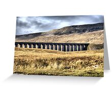 Ribblehead Viaduct Greeting Card