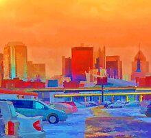 Pittsburgh Skyline  by Carolyn Schiffhouer