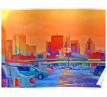 Pittsburgh Skyline  Poster