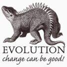 Evolution Dinosaur Humor by Zehda