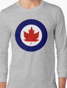 Royal Canadian Air Force Insignia (1946-1965) Long Sleeve T-Shirt