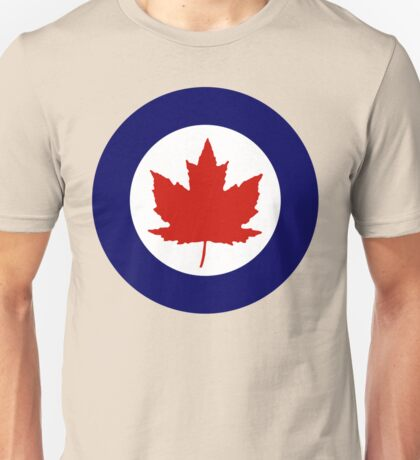 Royal Canadian Air Force Insignia (1946-1965) Unisex T-Shirt