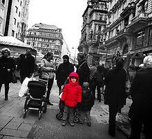 Vienna Street Scene by Mark Tomlinson