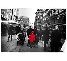 Vienna Street Scene Poster