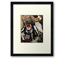 The Bee Keeper. Framed Print
