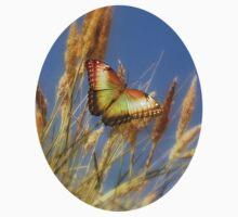 Golden Butterfly Kids Tee