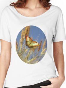 Golden Butterfly Women's Relaxed Fit T-Shirt
