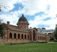 Goulburn Court House (1887) & Post Office Clock by DashTravels