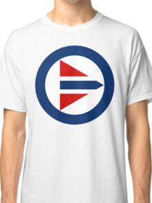 Royal Norwegian Air Force Insignia Classic T-Shirt