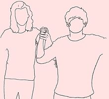 Larry tied up like two ships by usloual