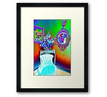 Colourful Corner... Framed Print