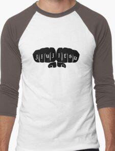 JIU JITSU GRIPS Men's Baseball ¾ T-Shirt