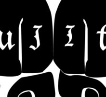 JIU JITSU GRIPS Sticker