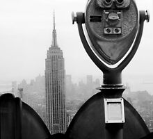 A View to the Empire State Building by kevinjacques