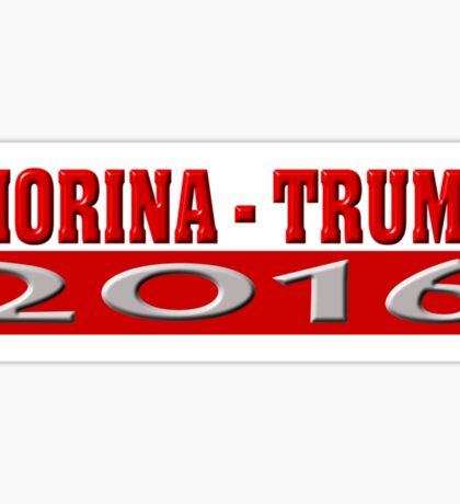 Fiorina Trump 2016 Sticker