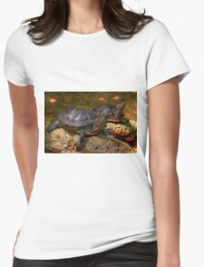 Red Eared Sliders Womens Fitted T-Shirt