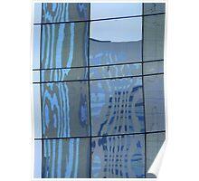 La Défense, Paris - Reflections Poster