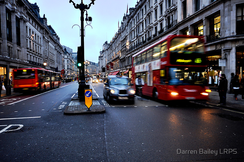 Taxi, bike or bus  by Darren Bailey LRPS