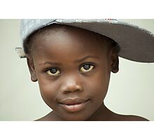 Haitian Sweetheart Photographic Print