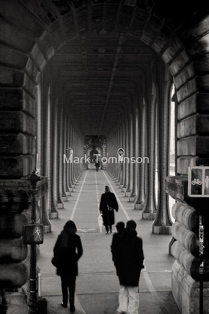 Parisian Walkway by Mark Tomlinson