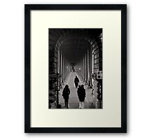 Parisian Walkway Framed Print