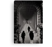 Parisian Walkway Canvas Print