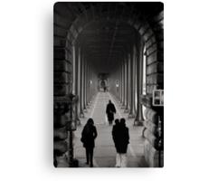Parisian Walkway Canvas Print