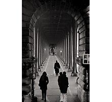 Parisian Walkway Photographic Print