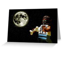 Howlin' at the Moon Greeting Card