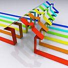 Houses - 3D Render by Bruno Beach