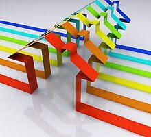 Houses - 3D Render by Atanas NASKO