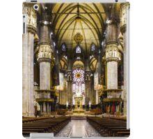 Duomo di Milano Interior iPad Case/Skin