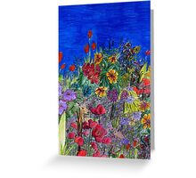 Whimsical Garden Greeting Card
