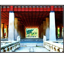 Temples of Seoul Photographic Print