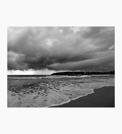 Storm Looming, Manly, Sydney, NSW, Australia Photographic Print