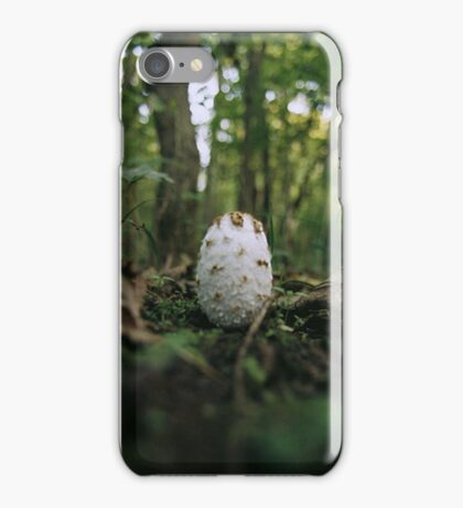 Forest Floor Fungus iPhone Case/Skin