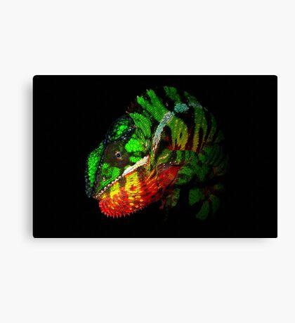 Panther Chameleon Canvas Print