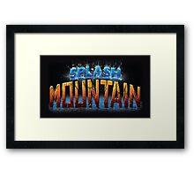 Splash Mountain Framed Print