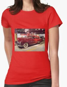 Shiney Red Buick Womens Fitted T-Shirt