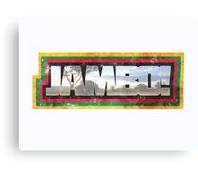 Jambo and Welcome!  Canvas Print