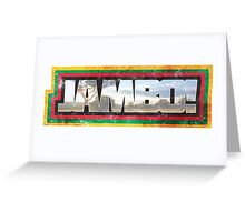 Jambo!  Greeting Card