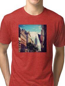 Spring Morning. New York City, New York Tri-blend T-Shirt