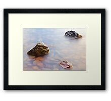 Three's a good number Framed Print