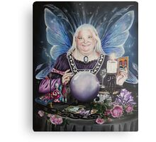 Good fairy faerie,fortune teller,tarot fantasy Metal Print