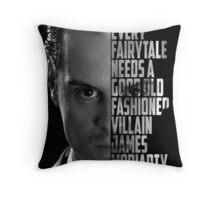 Jim Moriaty Throw Pillow