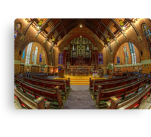 St Andrew's Uniting Church • Brisbane • Queensland Canvas Print