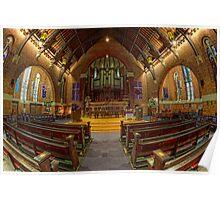 St Andrew's Uniting Church • Brisbane • Queensland Poster