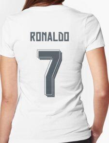 Ronaldo 2015/2016 Womens Fitted T-Shirt