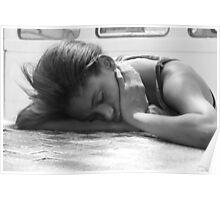 Sleeping little princess Poster