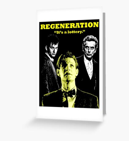 Regeneration Greeting Card